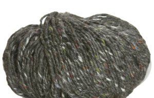 Debbie Bliss Luxury Tweed Aran Yarn - 15 Charcoal
