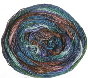 Noro Silk Garden Sock Yarn - 264 Tan, Green, Blue (Discontinued)