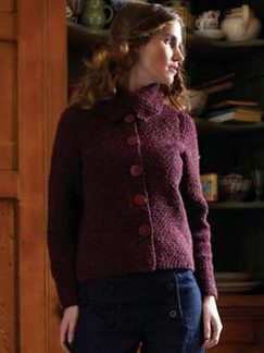 Debbie Bliss Luxury Tweed Adele Kit - Women's Cardigans