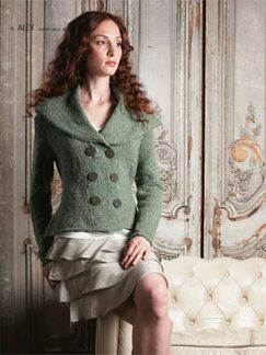 Debbie Bliss Luxury Tweed Alex Kit - Women's Cardigans