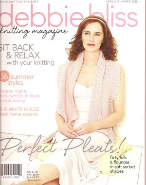 Debbie Bliss Knitting Magazine - '09 Spring/Summer (Discontinued)
