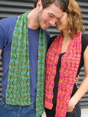 Ilga Leja Handknit Designs Patterns - Along the Boulevard Pattern