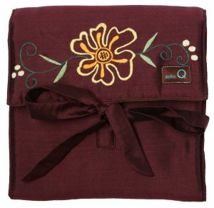 della Q The Que - Embroidered Sonya - Brown