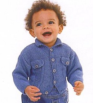 Rowan Denim Solo Kit - Baby and Kids Cardigans