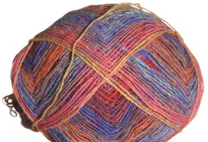 Noro Kureyon Sock Yarn - 102 Pink/Yellow/Red/Blue