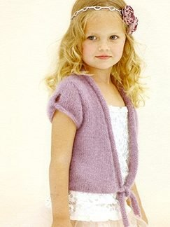Sublime Kid Mohair Little Whisper Cardigan Kit - Baby and Kids Cardigans