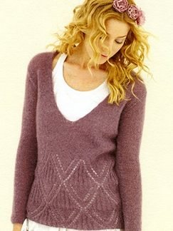 Sublime Kid Mohair Titania Sweater Kit - Women's Pullovers