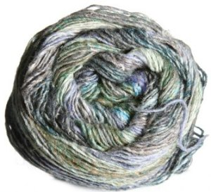 Noro Silk Garden Sock Yarn - 268 Green, Aqua, Brown (Discontinued)