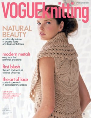 Vogue Knitting International Magazine - z'09 Spring/Summer