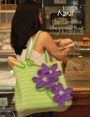 Noni Patterns - The Clematis Shopping Bag Pattern