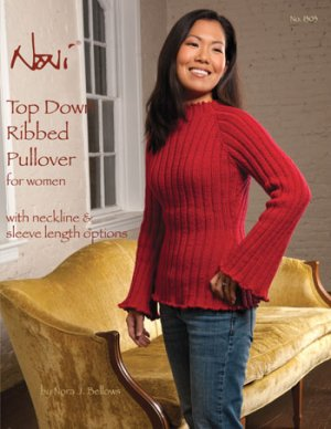 Noni Patterns - zTop Down Ribbed Pullover Pattern