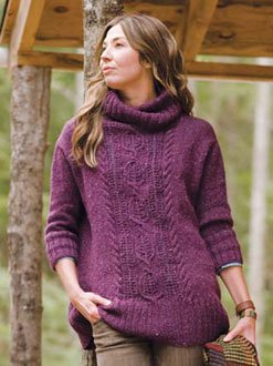 Berroco Blackstone Tweed Nesselrode Kit - Women's Pullovers
