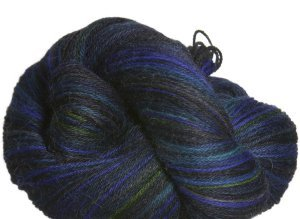 Misti Alpaca Hand Paint Sock Yarn - 01 - Blues in the Night (Discontinued)