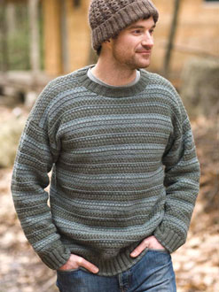 Berroco Ultra Alpaca Feldspar Kit - Mens Sweaters