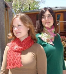 Battle Born Knits Patterns - Picot Lace Scarf Pattern