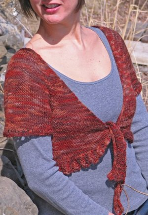 Nelkin Designs Patterns - Vaya Shrug Pattern