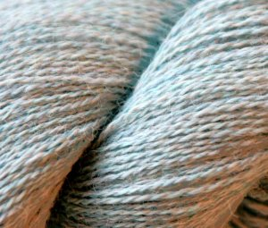 Misti Alpaca Lace Yarn - CD42 Blue Mist Melange