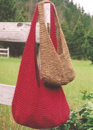 Crochet Pattern For Bucket Bag : KNIT BUCKET BAG PATTERN Free Knitting and Crochet Patterns