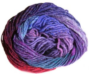 Noro Kureyon Yarn - 250 Purple/Red/Royal (Discontinued)