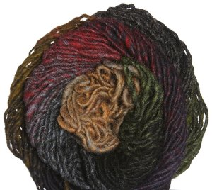 Noro Kureyon Yarn - 242 Rust/Olive/Black (Discontinued)