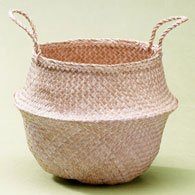 Lantern Moon Rice Baskets - Large Natural Basket