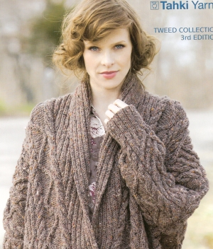 Tahki Donegal Tweed Great Expectations Kit - Women's Cardigans