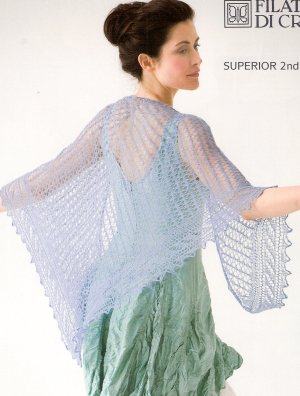 Filatura di Crosa Superior Cinderella Shawl Kit - Scarf and Shawls