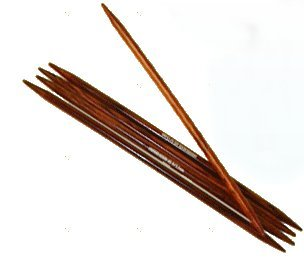 Lantern Moon Dalbergia Double Points Needles - US 1 Needles