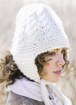 Tahki Montana Trapper Hat Kit - Hats and Gloves