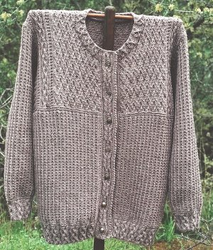 Oat Couture Patterns - Celtic Cardigan Pattern at Jimmy Beans Wool