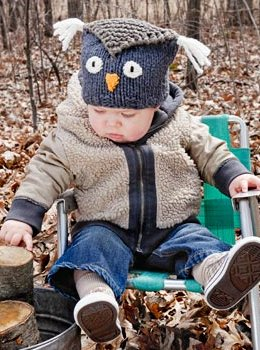 Spud & Chloe Patterns - Hoot Hat Pattern