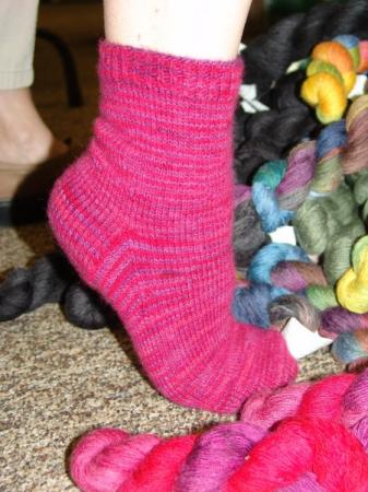 Artyarns Cashmere Sock Simple Socks Kit - Socks