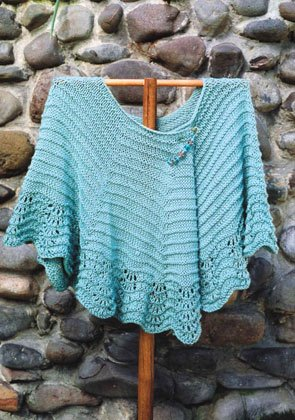 Oat Couture Patterns - Sonoma Shawl Pattern