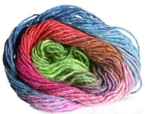 Noro Silk Garden Yarn - 304 Hot Pink, Turquoise, Lime (Discontinued)