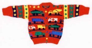 Ann Norling Patterns - 06 Truck Sweater (Discontinued) Pattern
