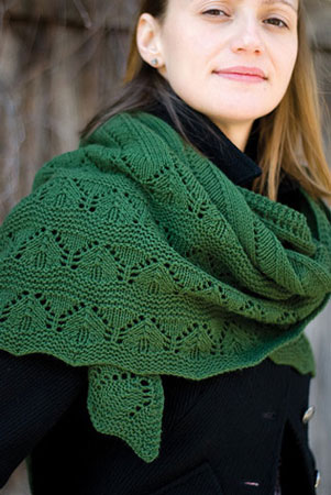 St-Denis Nordique Green Mountain Shawl Kit - Scarf and Shawls