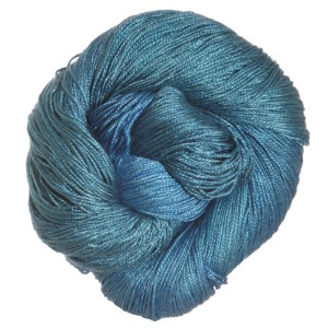 Sea Silk yarn from Hand Maiden - seen here in