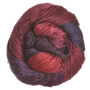 Hand Maiden Sea Silk Yarn - Blackberry