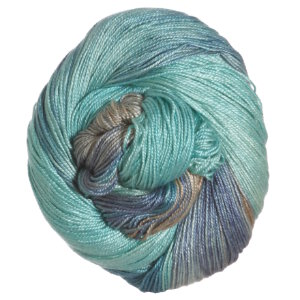 Hand Maiden Sea Silk Yarn - Glacier