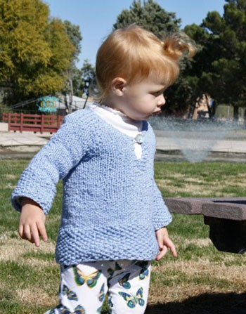 Classic Elite Sprout Child's Tunic Kit - Baby and Kids Pullovers
