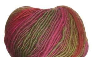 Crystal Palace Mochi Plus Yarn - 556 Strawberry-Lime Rainbow (Discontinued)