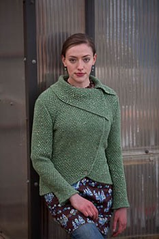 Debbie Bliss Donegal Luxury Tweed Barcelona Jacket Kit - Women's Cardigans