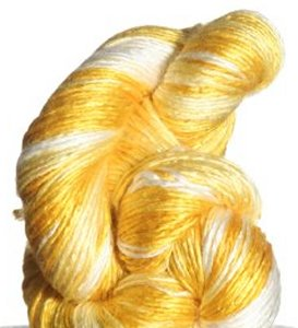 Artyarns Regal Silk Yarn - 134 - Yellow/White