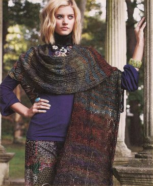 Prism Merino Mia Lace Wrap Kit - Scarf and Shawls