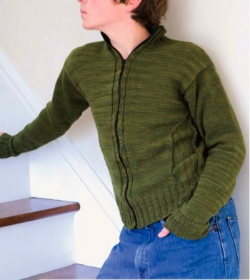 Manos Del Uruguay Silk Blend Greensleeves Kit - Mens Sweaters