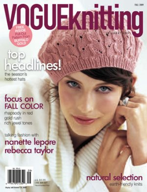 Vogue Knitting International Magazine - '09 Fall