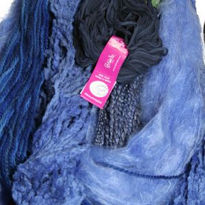 Colinette Absolutely Fabulous Throw Kit - zBlue Horizon