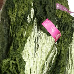 Colinette Absolutely Fabulous Throw Kit - zSpring Leaves