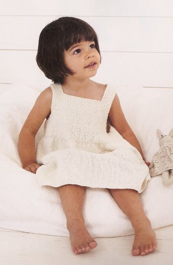 Debbie Bliss Eco Baby Sun Dress Kit - Dresses and Skirts