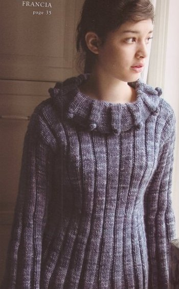 Malabrigo Worsted Merino Francia Kit - Women's Pullovers